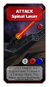 Alpha Strike Spinal Laser Attack card